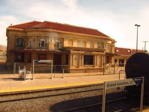 Train Station in Down Town Grand Junction
